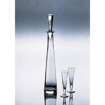 """Deru - bottle """"Byblos"""" 0.3L, кутия с 2 броя гарафа за ракия и водка"""