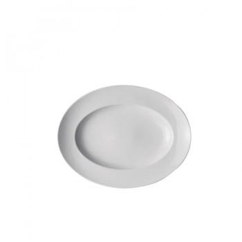 """Epoque/ Accenti Due"" - Gourmet plate deep oval 36 cm, овална дълбока чиния"