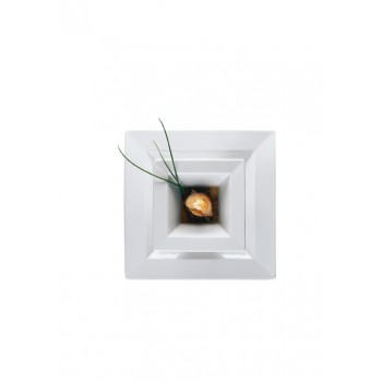"""Epoque/ Accenti Tre"" - Bowl flat 22x22 cm, квадратна чиния"