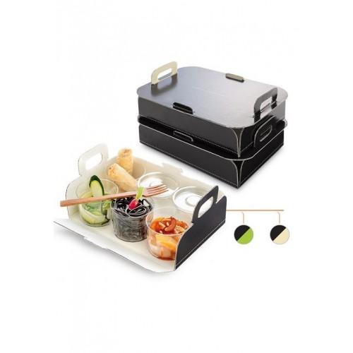 Comatec Take Away - Box tray S, кутия с 100 броя кутии за храна