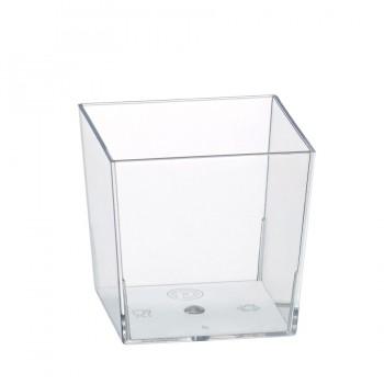 """Coctail Line"" - Cubik mini dish ""Karo"" 60ml, кутия с 400 броя съдчета"