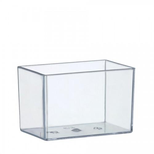 """Coctail Line"" - Rectangular mini dish ""Karo"" 60ml, кутия с 200 броя съдчета"