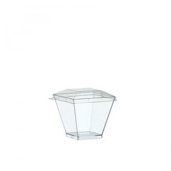 """Coctail Line"" - Crystal container ""Kova"" 60ml, кутия с 300 броя съдчета"