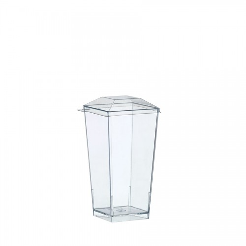 """Coctail Line"" - Crystal container ""Kova"" 100ml, кутия с 300 броя съдчета"