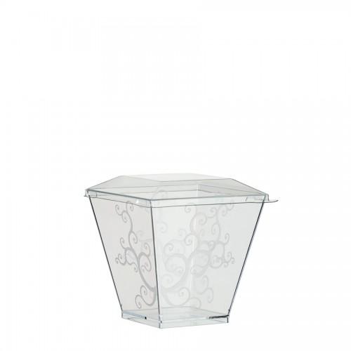 """Coctail Line"" - Crystal cup ""Volute Kova"" 220ml, кутия с 400 броя съдчета"