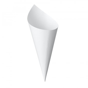 Comatec Cocktail Line - White cone 160mm, кутия с 100 броя фуниики