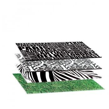 Comatec Display - Crystal feet for placemat, кутия с 4 броя крачета за плодложка