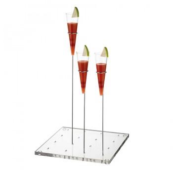 "Comatec Display - ""Flora"" tray, кутия с 1 брой поднос"