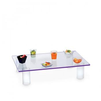 Comatec Display - Purple lumitray, кутия с 1 брой флуоресцентна масичка