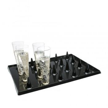 """Comatec Display - """"Lux by starck atlas"""" black tray, кутия с 20 броя подноси"""