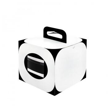 "Comatec Take Away - ""Bento bodeglass"" box with black angles, кутия с 100 броя кутии за храна"