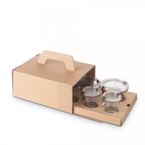 "Comatec Take Away - ""Boko"" box, кутия с 50 броя кутии за обяд"