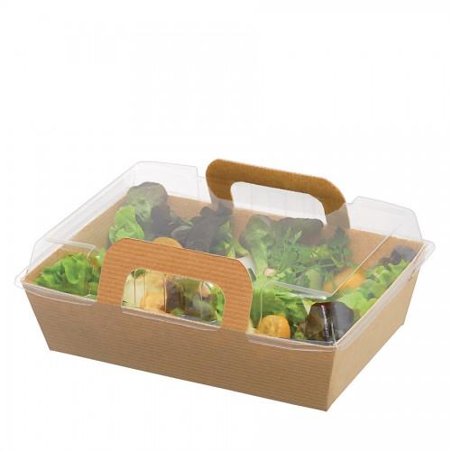 "Comatec Take Away - ""Basket"" 800ml, кутия с 200 броя кутии за храна"