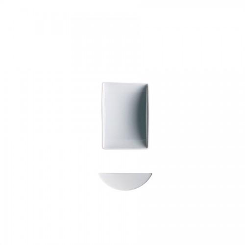 """""""Epoque/ Accenti Due"""" - Bowl rectangular """"Seasaw"""" 9 см, правоъгълна купичка"""