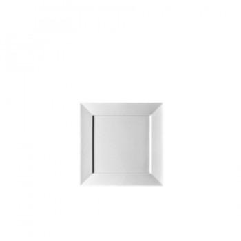 """Epoque/ Accenti Due"" - Plate flat square 27x27 см, квадратна чиния"