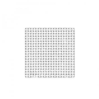 """Bossa Nova"" - Square plate 28 cm, квадратнa платo"