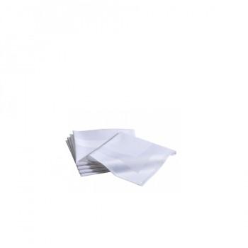 Textile napkin with satin band 50x50 см - текстилна салфетка със сатенена лента