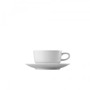 """Epoque"" - Cup stackable 180 ml, чаша с чинийка за кафе"