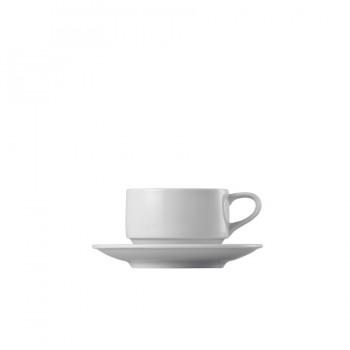 """Epoque"" - Cup stackable 180 ml, чашa с чинийка за кафе"