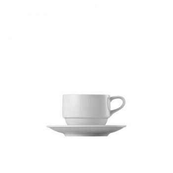 """Epoque"" - Cup stackable 220 ml, чашa с чинийка за чай"