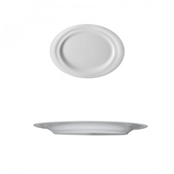 """In.Gredienti"" - Plate flat oval 31x23 cm, овално плато"