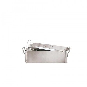 """Complimenti Baking Pans"" - Fish kettle with grid & cover, тава за риба с решетка и капак"