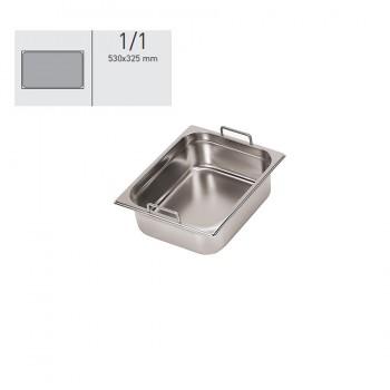 """""""GN food pans""""- GN 1/1 Fixed handles 53x32.5x10cm, тава с фиксирани дръжки"""