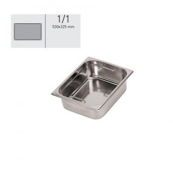 """""""GN food pans""""- GN 1/1 Internal handles 53x32.5x10cm, тава с вътрешни дръжки"""