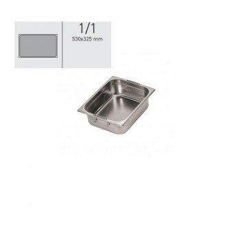 """GN food pans""- GN 1/1 Retractable handles 53x32.5x65cm, тава с прибиращи се дръжки"