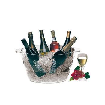 Oval wine party tub, овален парти охладител за вино
